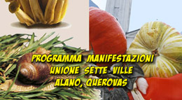 Programma Manifestazioni Unione Setteville , Alano e QueroVas