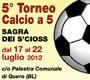 5°Torneo Calcio a 5