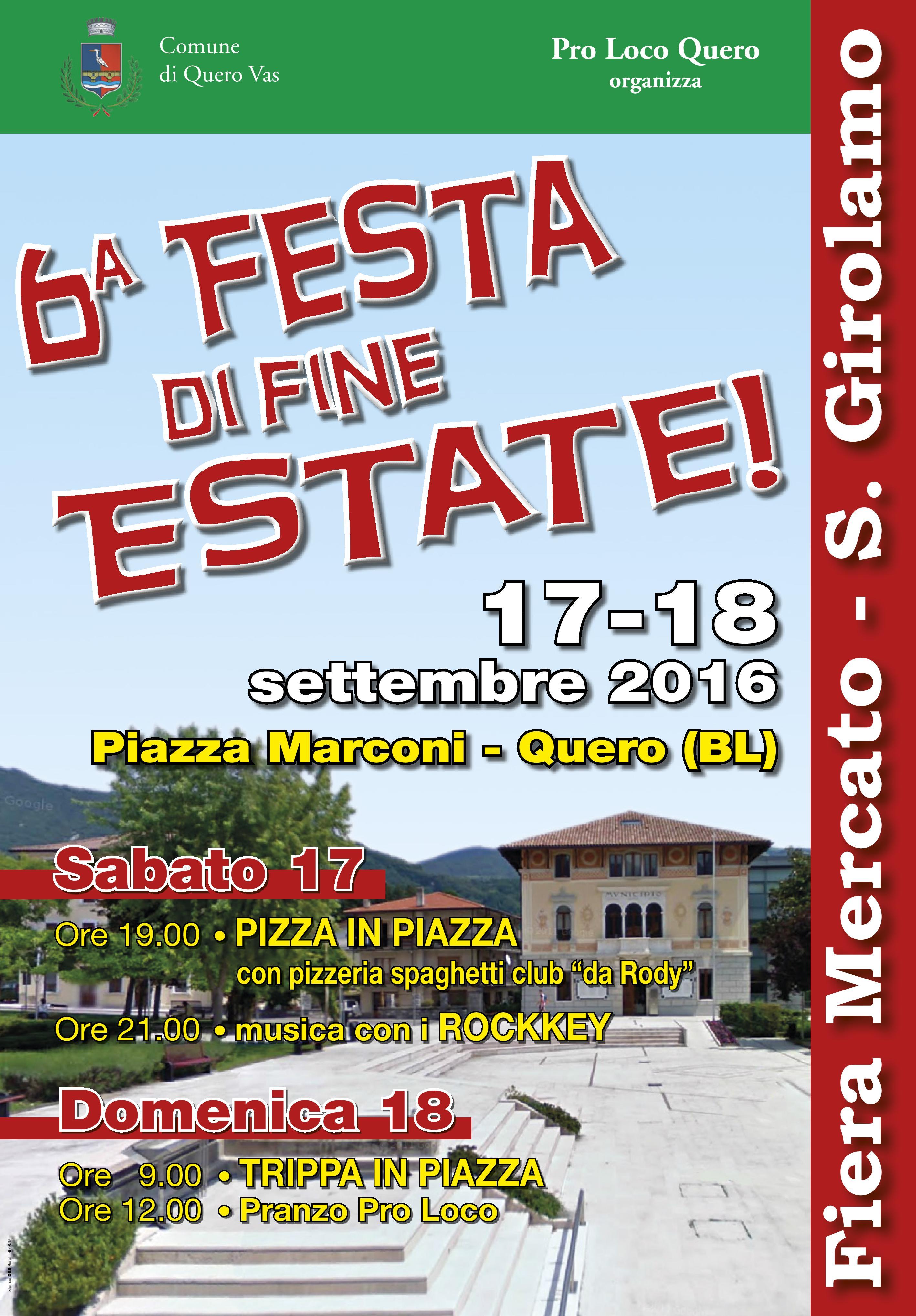 6^ Festa di Fine Estate