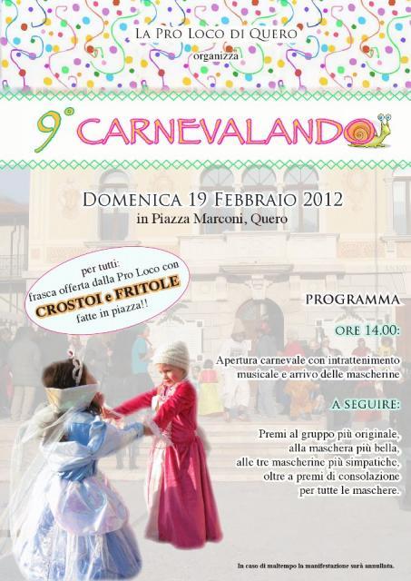 Carnevalando 2012